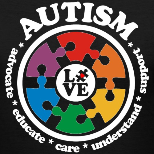 LOVE Autism Awareness Drk