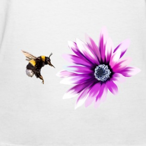 Bumblebee and flower Women's T-Shirts - Women's T-Shirt