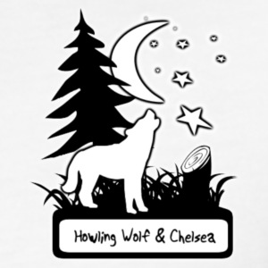 Howling Wolf & Chelsea T-Shirt - Fitted Cotton/Poly T-Shirt by Next Level