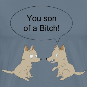 Dog Pun - Men's Premium T-Shirt