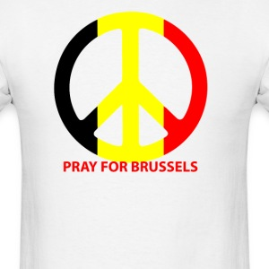 Pray For Brussels T-Shirts - Men's T-Shirt