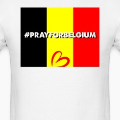 Pray For Belgium T-Shirts