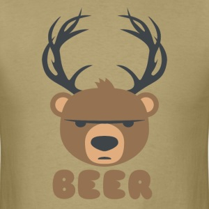 DEER BEAR BEER T-Shirts - Men's T-Shirt