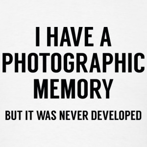 Photographic Memory - Men's T-Shirt