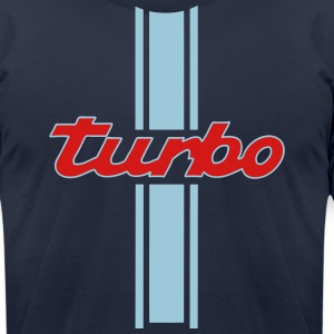 turbo boost - Men's T-Shirt by American Apparel