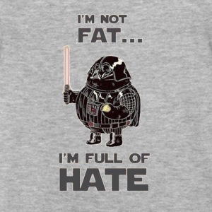 Fat Vader - Fitted Cotton/Poly T-Shirt by Next Level