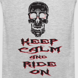 Keep Calm Ride On - Men's Premium Tank
