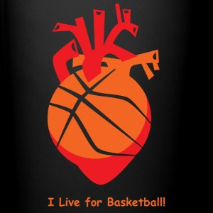 I live for Basketball! - Full Color Mug