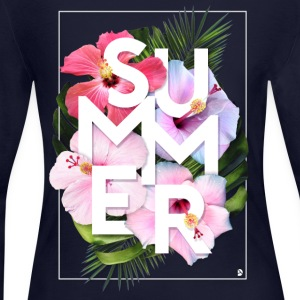 AD Summer Long Sleeve Shirts - Women's Long Sleeve Jersey T-Shirt