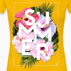 AD Summer Women's T-Shirts