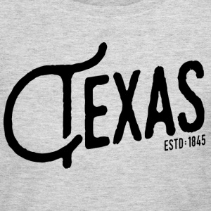 Texas Script - Women's Long Sleeve Jersey T-Shirt