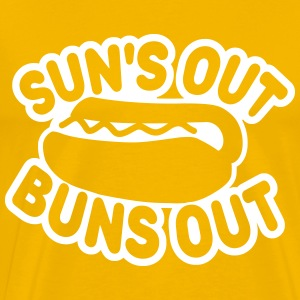 Suns Out Buns Out T-Shirts - Men's Premium T-Shirt