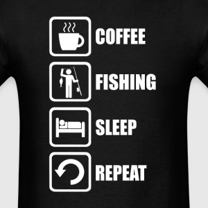 Fishing Sleep Repeat - Men's T-Shirt