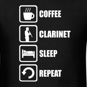 Funny Clarinet - Men's T-Shirt