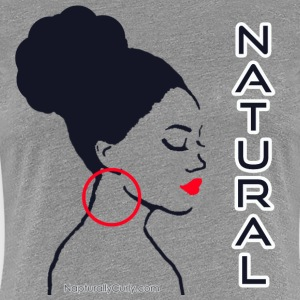 Natural Bun - Women's Premium T-Shirt