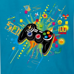 Gamepad Video Games Kids' Shirts - Kids' T-Shirt