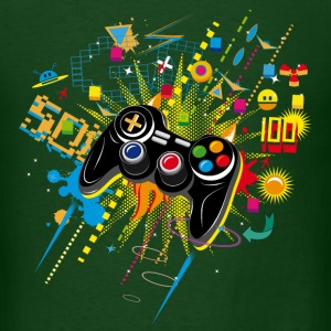Gamepad Video Games T-Shirts - Men's T-Shirt