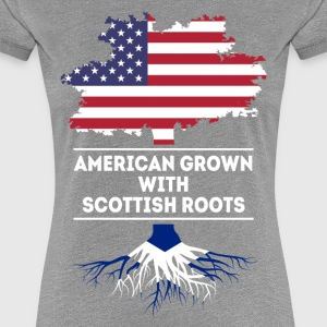 American grown with Scottish roots T Shirt Women's T-Shirts - Women's Premium T-Shirt