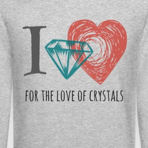 For the Love of Crystals - Crewneck Sweatshirt