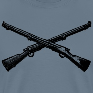 Rifle Cross - Men's Premium T-Shirt