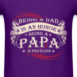Grandpa - Being A Dad Is An Honor - Men's T-Shirt