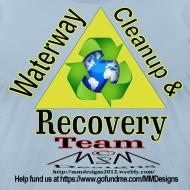 Design ~ Waterway cleanup team logo