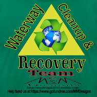 Design ~ Waterway cleanup team logo