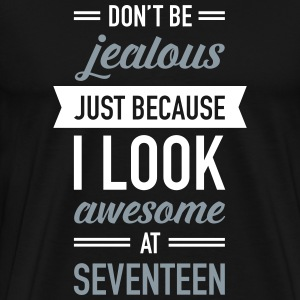 Awesome At Seventeen T-Shirts - Men's Premium T-Shirt