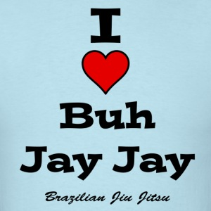 I Heart Buh Jay Jay - Men's T-Shirt