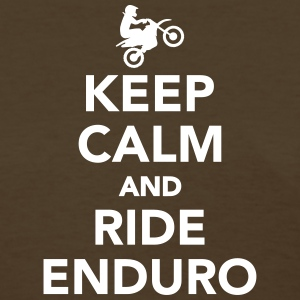 Keep calm and ride Enduro Women's T-Shirts - Women's T-Shirt