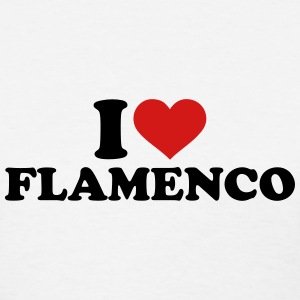 I love Flamenco Women's T-Shirts - Women's T-Shirt