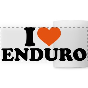 I love Enduro Mugs & Drinkware - Panoramic Mug
