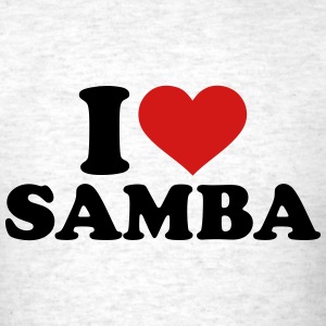 I love Samba T-Shirts - Men's T-Shirt