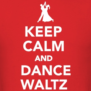 Keep calm and dance Waltz T-Shirts - Men's T-Shirt