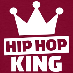 Hip hop king  T-Shirts - Men's T-Shirt