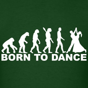 Evolution Dancing T-Shirts - Men's T-Shirt
