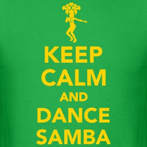 Keep calm and dance Samba T-Shirts - Men's T-Shirt
