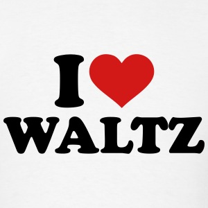 I love Waltz T-Shirts - Men's T-Shirt