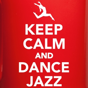 Keep calm and dance jazz Mugs & Drinkware - Full Color Mug