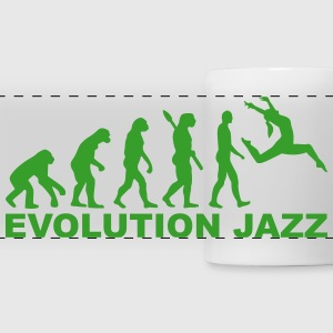 Evolution Jazz Mugs & Drinkware - Panoramic Mug