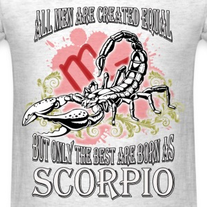 Zodiac/Scorpio - Only The Best - Men's T-Shirt