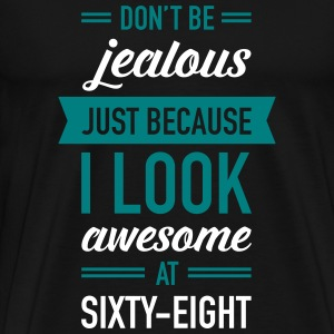 Awesome At Sixty-Eight T-Shirts - Men's Premium T-Shirt