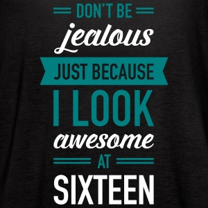 Awesome At Sixteen Tanks - Women's Flowy Tank Top by Bella