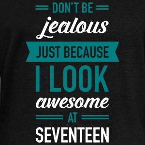 Awesome At Seventeen Long Sleeve Shirts - Women's Wideneck Sweatshirt
