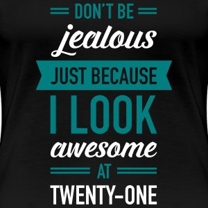 Awesome At Twenty-One Women's T-Shirts - Women's Premium T-Shirt