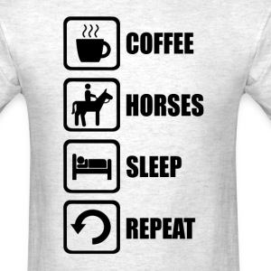 I Love Horses - Men's T-Shirt