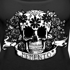 sugar skull memento Tanks