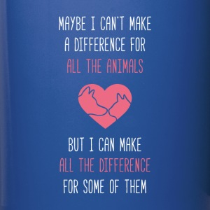 All the difference Animal Rescue T Shirt Mugs & Drinkware - Full Color Mug