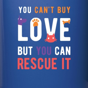 Animal Lover Rescue love Animal Rescue T Shirt Mugs & Drinkware - Full Color Mug