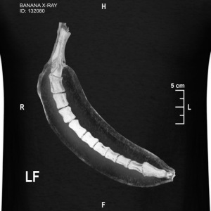 BANANA X RAY - Men's T-Shirt